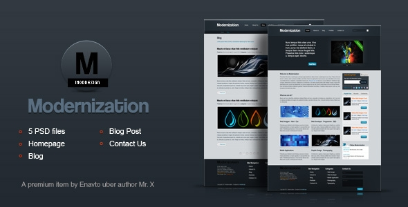 Modernization Theme Free Download