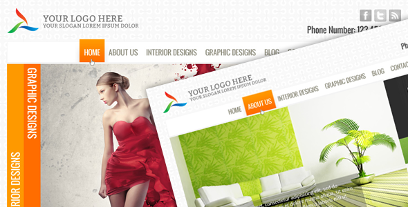 Interior Designer Template (Edenite)