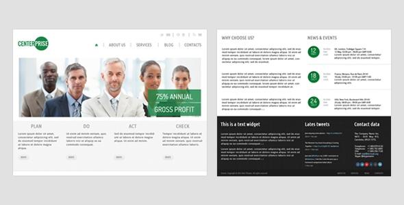 CENTERPRISE – HTML Business Corporate Theme