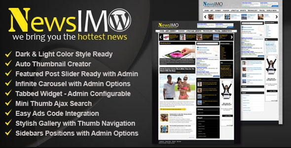 NewsIMO - Premium WordPress Magazine Theme