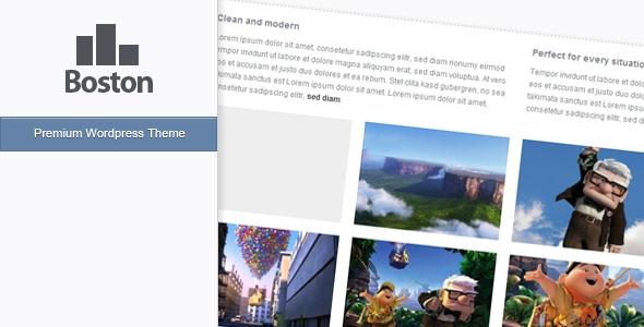 Boston - Wordpress Theme