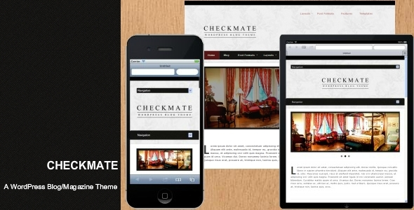 Checkmate - A WordPress Blog/Magazine Theme