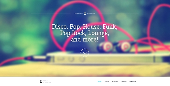 Sound - One Page HTML Template