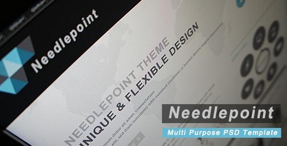 Needlepoint - Multi Purpose PSD Template