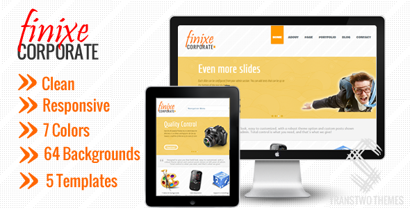 Finixe Corporate - Responsive WordPress