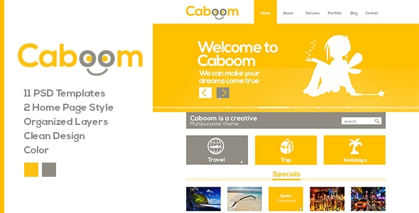 Caboom yellow