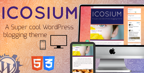 ICOSIUM - A Personal WordPress Template