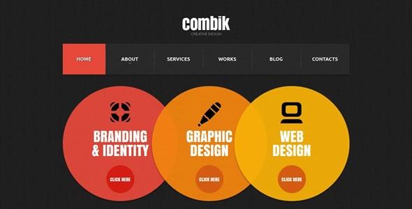 Combik - HTML5 JS Animated