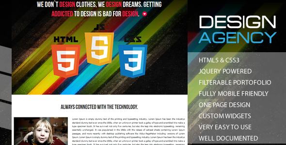 SimplYDesign - Responsive One Page WP Theme
