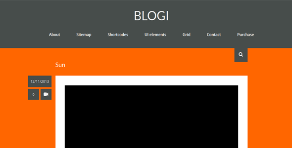 Blogi – WordPress Blog Theme