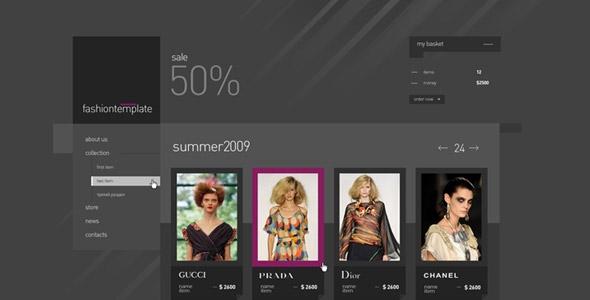 Fashion online e-shop