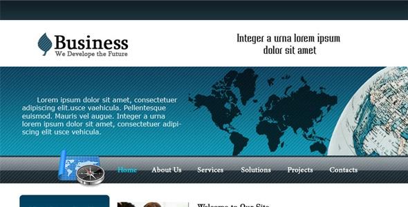 business glassy website
