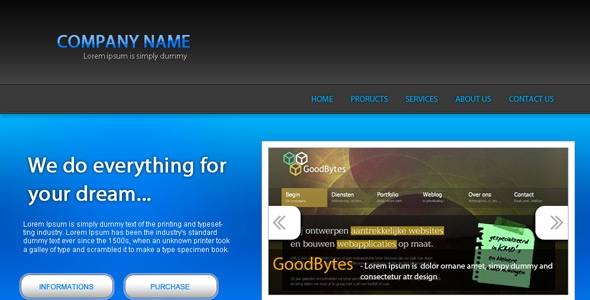 Company name - Portfolio
