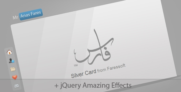 Silver Card Free Download