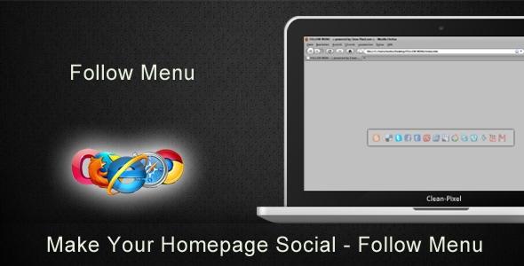 Follow Menu - Social Me