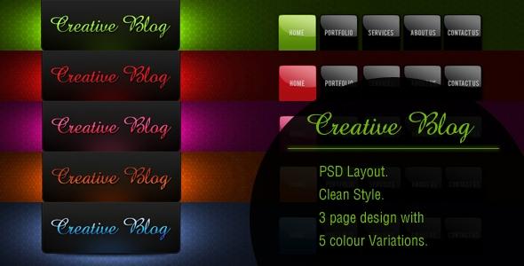 Creative Blog Free Download