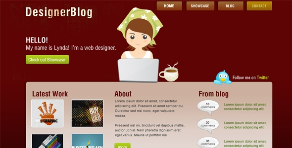 Designer blog Free Download
