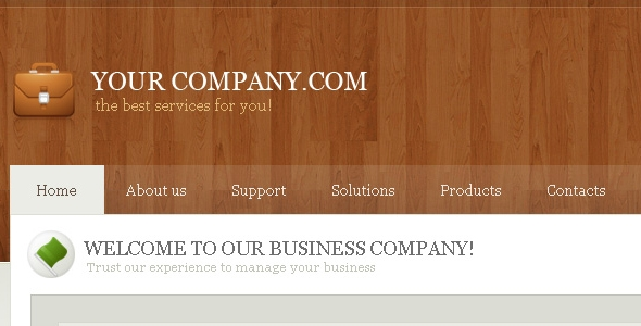 Business Template Free Download