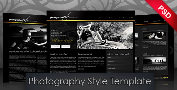 Modern Photography Template