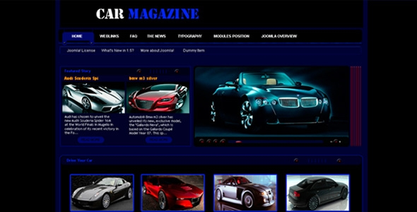 Professional & Smart Car Magazine