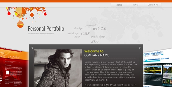 Personal Portfolio Free Download