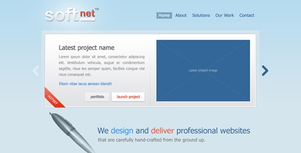 Soft Business Portfolio Free Download