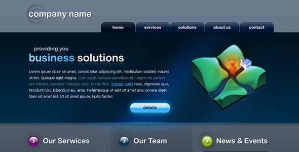 Nice and clean Business Website Free Download
