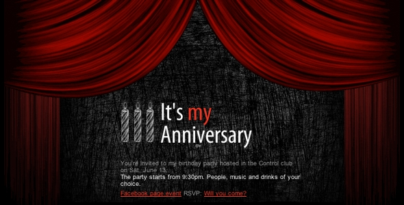 Interactive Birthday Invite