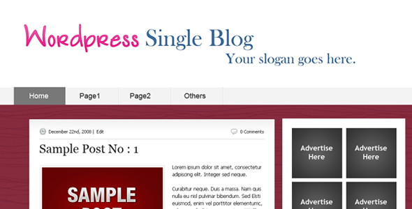 Simple Web Template Free Download