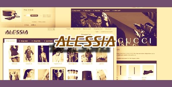 Alessia - OpenCart 1.5.x Premium Theme