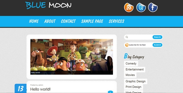 WordPress Premium Theme – FMYS Bluemoon