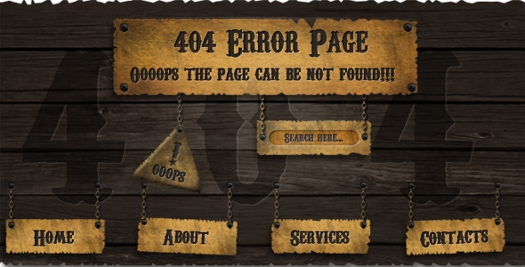 404 Page Free Download