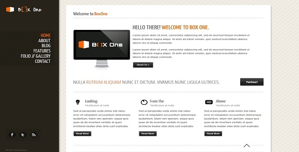 Box One Premium Theme Free Download