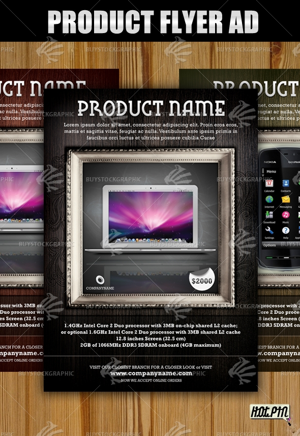 Product flyer Ad Template