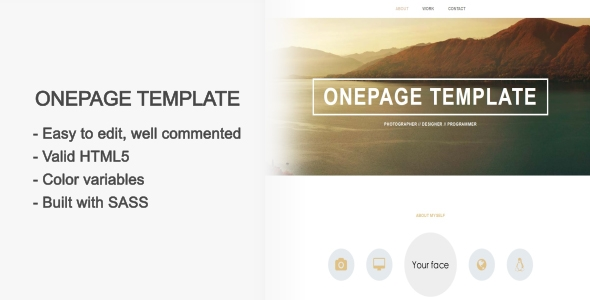 Simplistic - Onepage Responsive Template