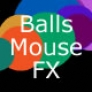 Balls mouse effect