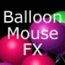 Balloon mouse effect