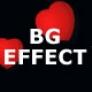 Background effect heart