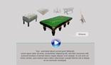 3D  carousel Menu
