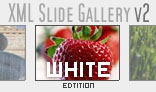 XML Slide Gallery v2 with Background Music WHITE