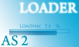 Percentage Loader (AS 2)