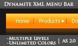 Dynamite XML menu bar- Unlimited Levels and Colors