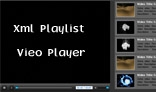 Xml Video playlist Video Player