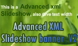 Advanced XML Slideshow banner  V2