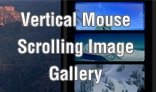 Vertical Mouse Scrolling Image Gallery