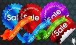 sales sticker template