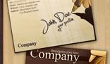+Sleek Business Card