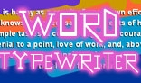 Word by Word Typewriter Actionscript