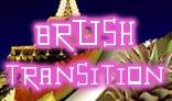 Brush Transition Effect