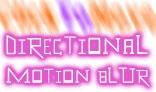 Directional Motion Blur